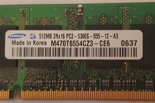 Samsung 512MB Ram