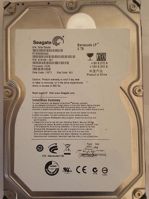 Seagate 2TB Hard Drive
