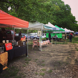 Rhed's is at the Goddard Park Farmers Ma