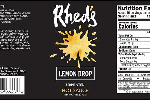 10oz Bottle Lemon Drop Hot Sauce