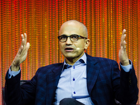 The best career advice from Microsoft's CEO