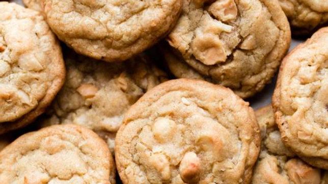Vegan Macadamia Nut Cookies