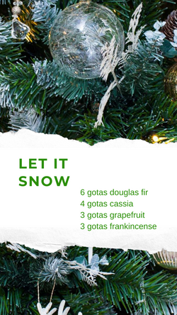 Let it Snow christmas blend