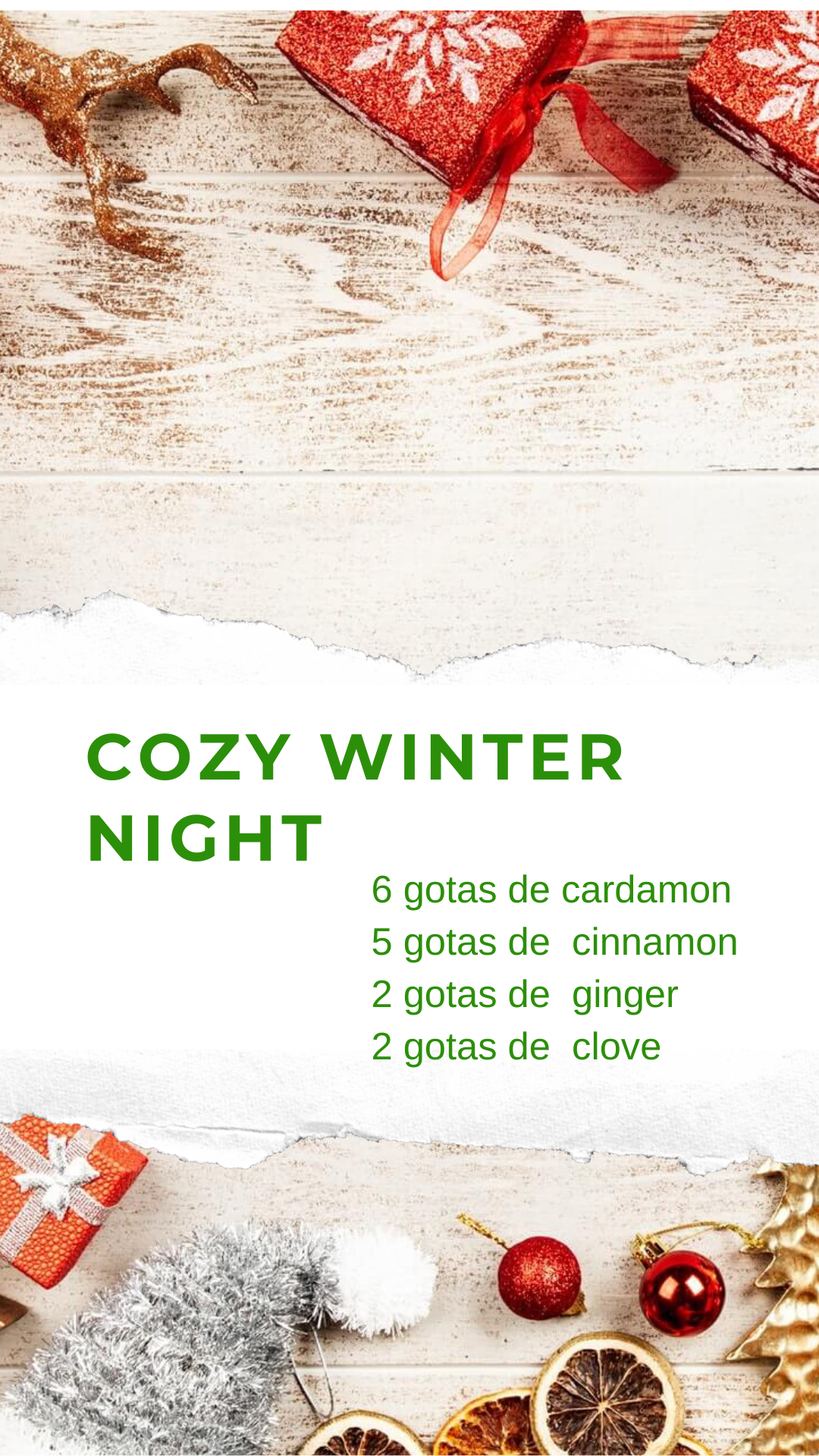 cozy winter night essential oil essence