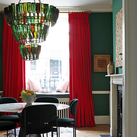 Curtains - Pat Giddens Ltd Interior Designer - Ana Engelhorn Photographer - James Balston