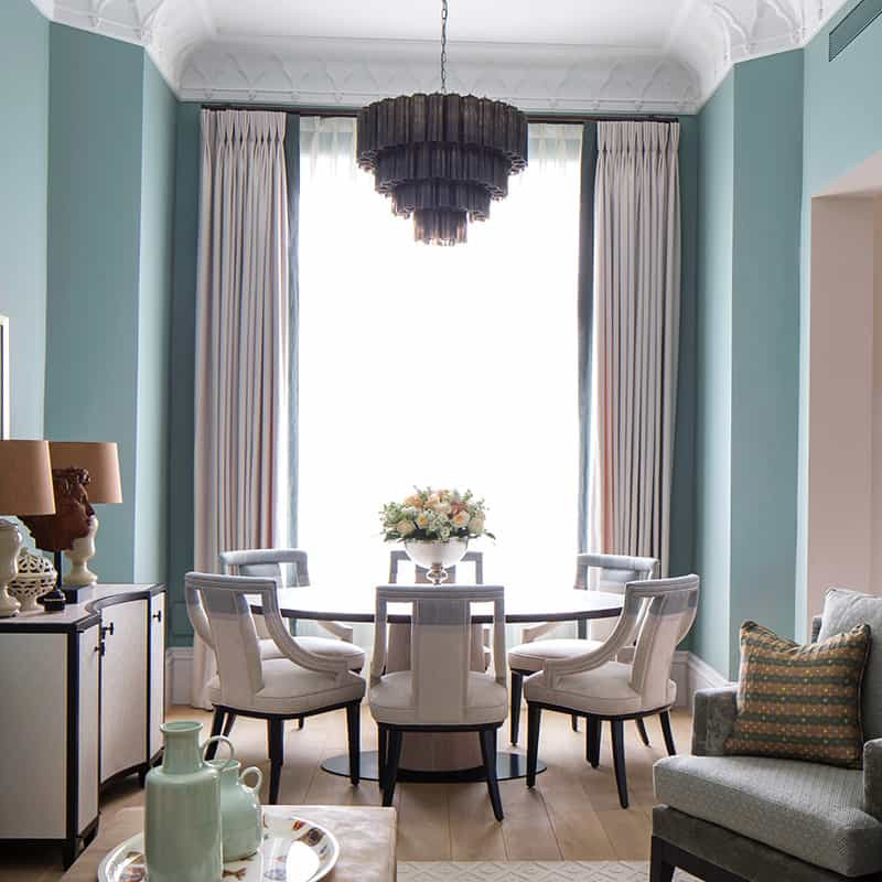 Curtains - Pat Giddens Ltd Interior Design - Roselind Wilson Design Photographer - Richard Waite