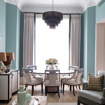 Curtains - Pat Giddens Ltd Interior Design - Roselind Wilson Design Photographer - Richard Waite