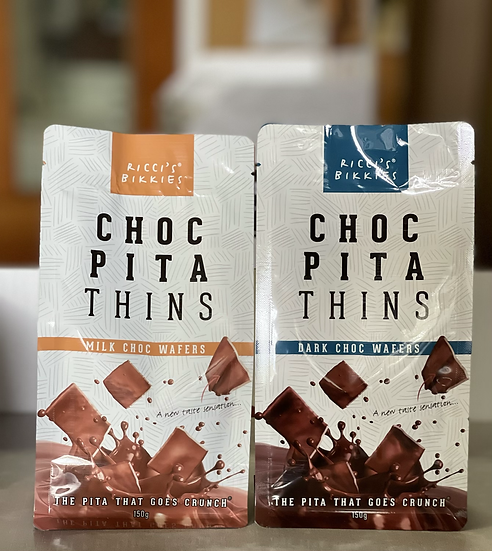 Milk Choc Pita Thins