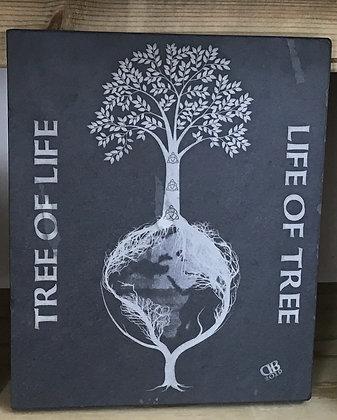 Tree of Life , Life of tree on Slate