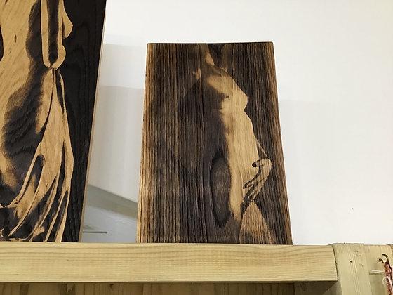 Sensual Art on oak