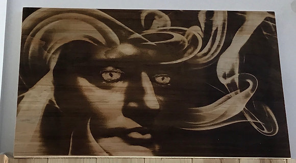 Face of Spirit on Ply