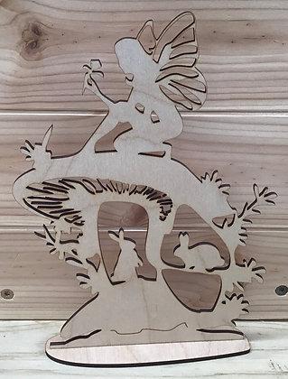 Fairy fantasy scrollwork