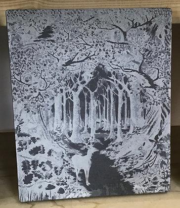 Forest Scene on Slate