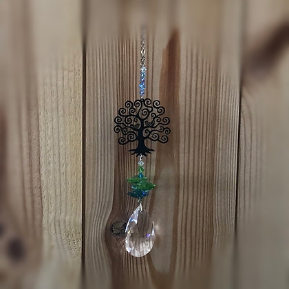 Tree of Life Swarovski Suncatcher