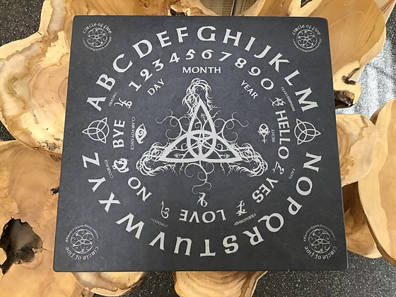 Slate Message Board with Triquetra