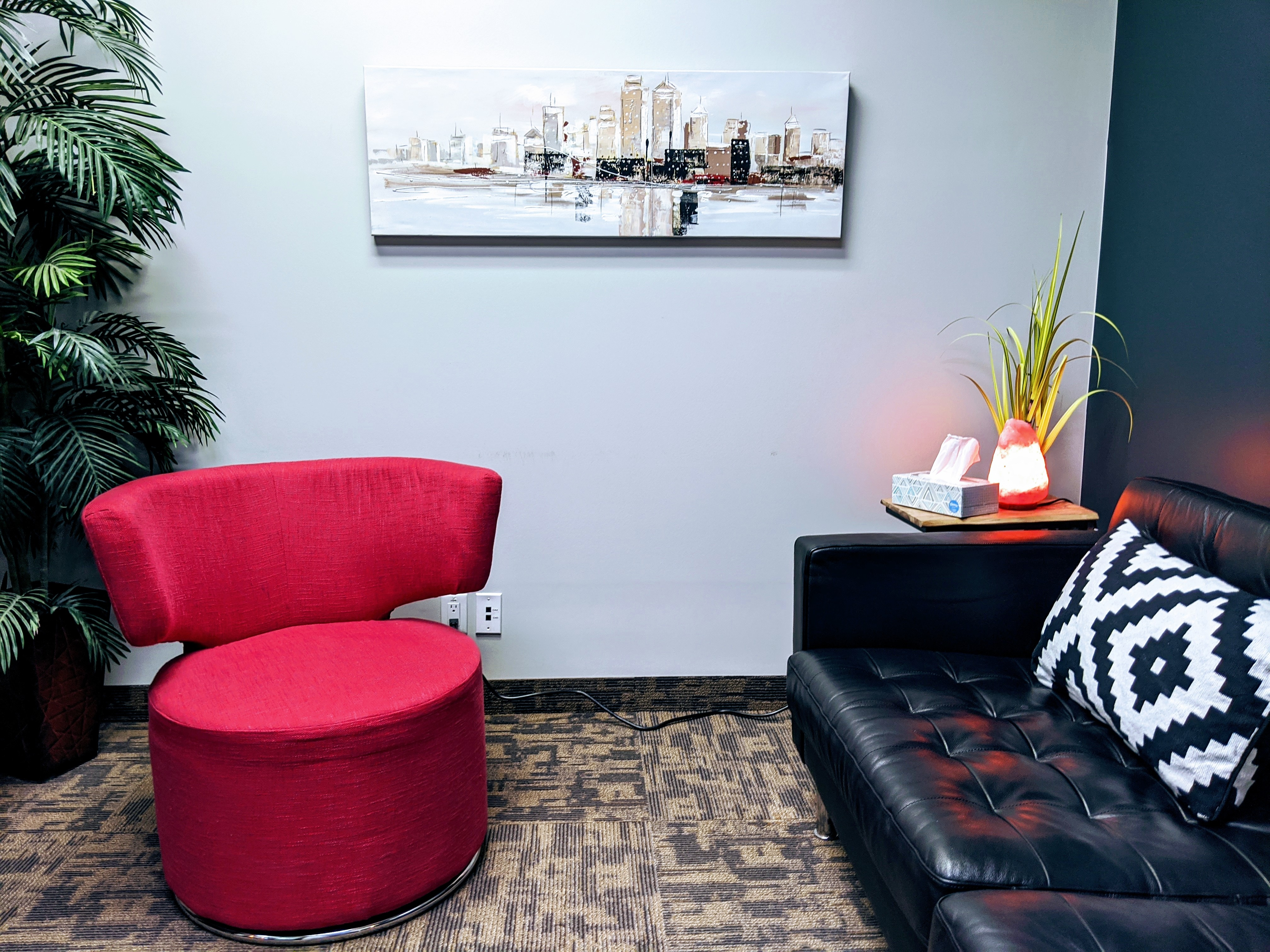 Couples/Family Counselling Room