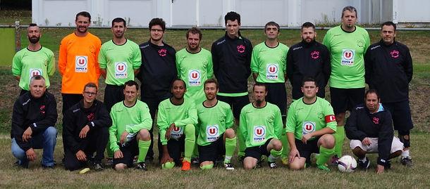 Equipe de l'ASC La Meyze 2016-2017