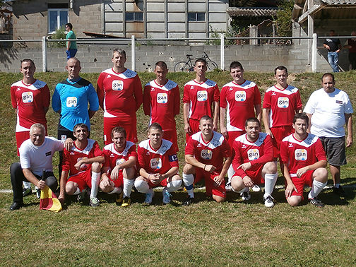 Equipe de l'ASC La Meyze