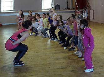 Gymnastique volontaire de La Meyze, zumba kid