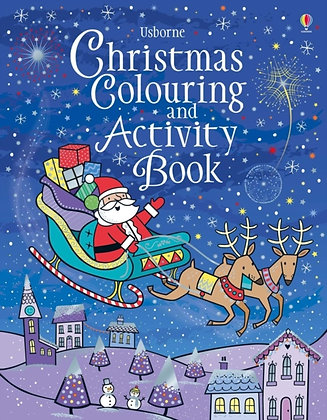 Christmas Colouring and Activity Book by Kirsteen Robson