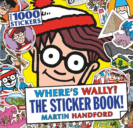 Where's Wally? The Sticker Book! by Martin Handford