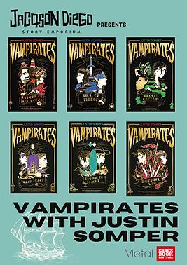 Vampirates with Justin Somper Event Webs