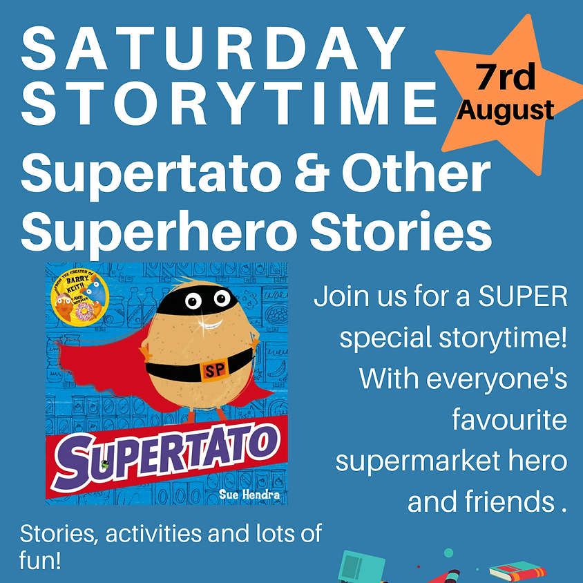 Saturday Storytime - Supertato and Other Superhero Stories