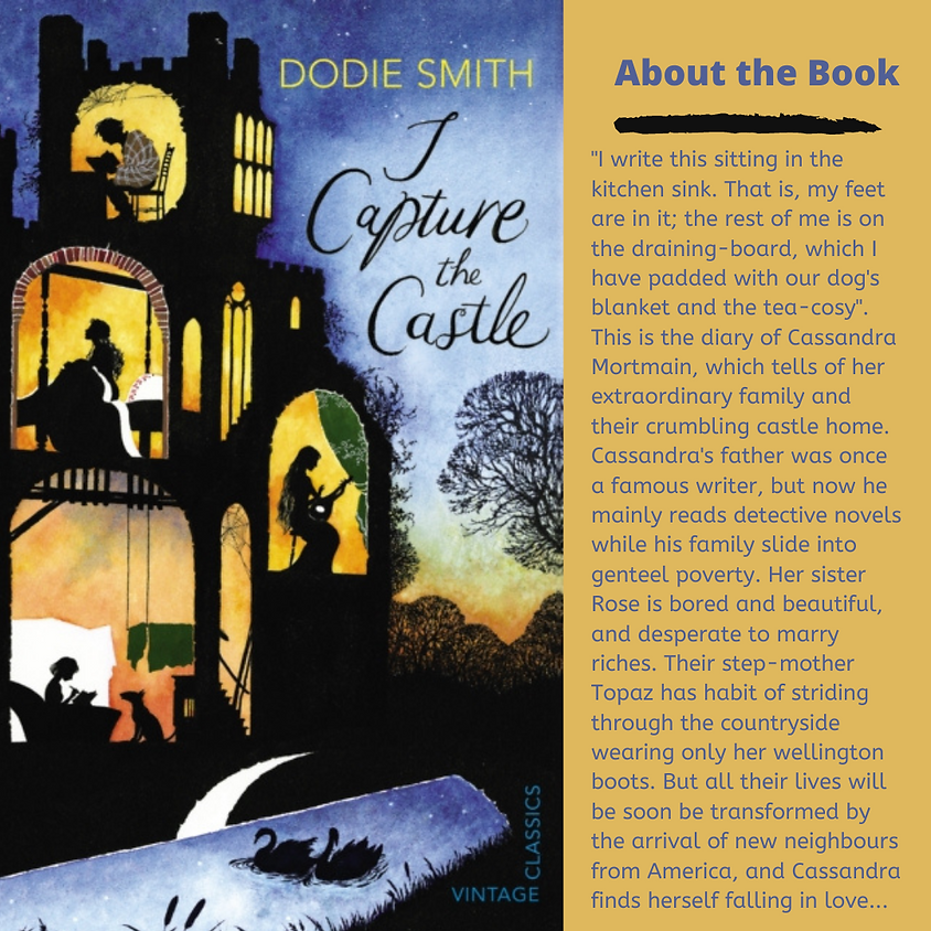 Book Zoom YA: I Capture the Castle by Dodie Smith