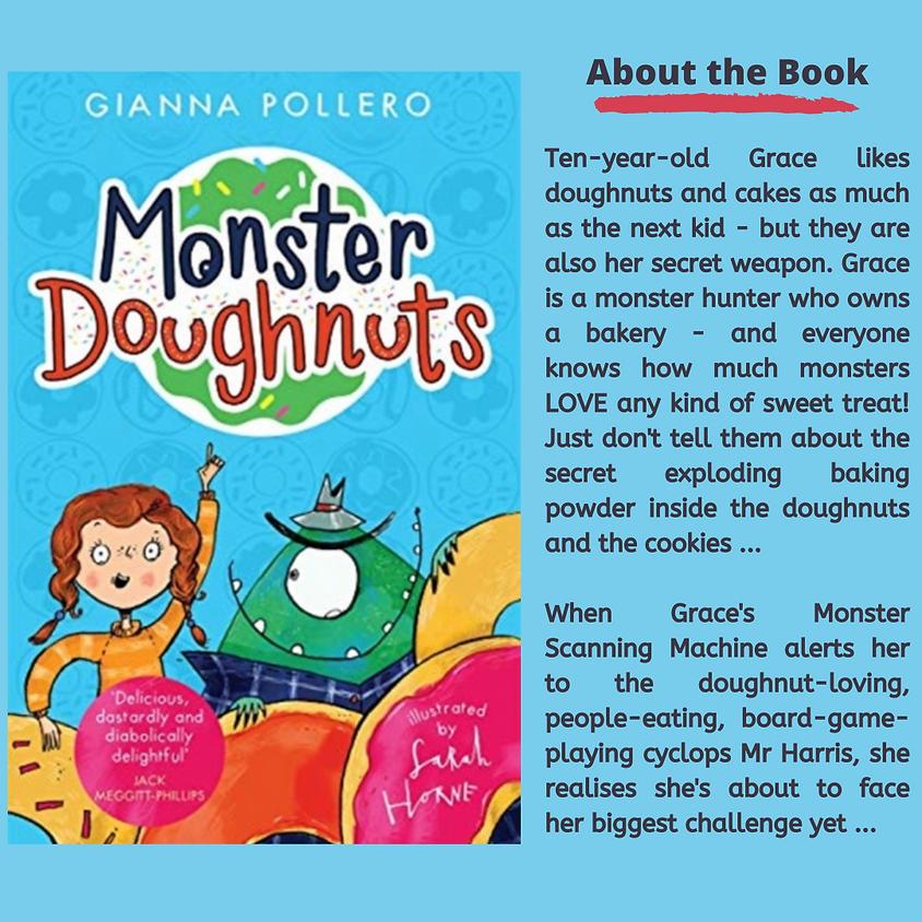 Monster Doughnuts ... In a Bag