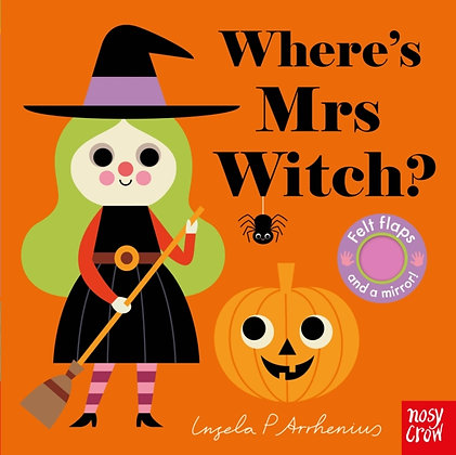 Where's Mrs Witch? by Ingela P Arrhenius