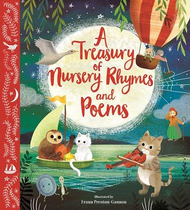 A Treasury of Nursery Rhymes and Poems By Frann Preston-Gannon