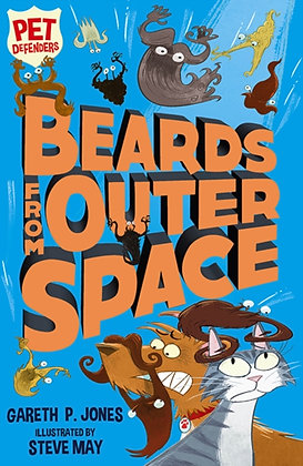 Beards from Outer Space by Gareth P. Jones