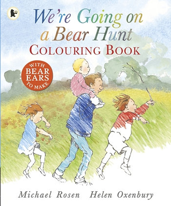 We're Going on a Bear Hunt Colouring Book by Michael Rosen