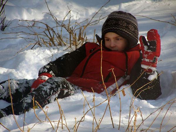 Kameron Richter snowfall