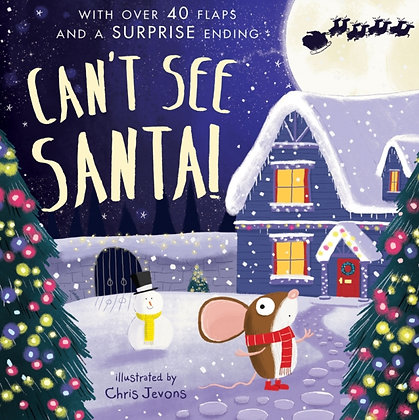 Can't See Santa! by Mandy Archer