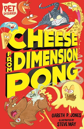 Pet Defender Cheese from Dimension Pong : 5 by Gareth P. Jones