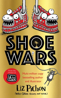Shoe Wars by Liz Pichon – includes limited edition tote bag