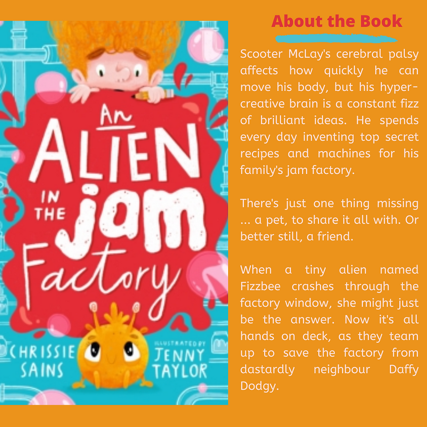 An Alien in the Jam Factory ... in a Box