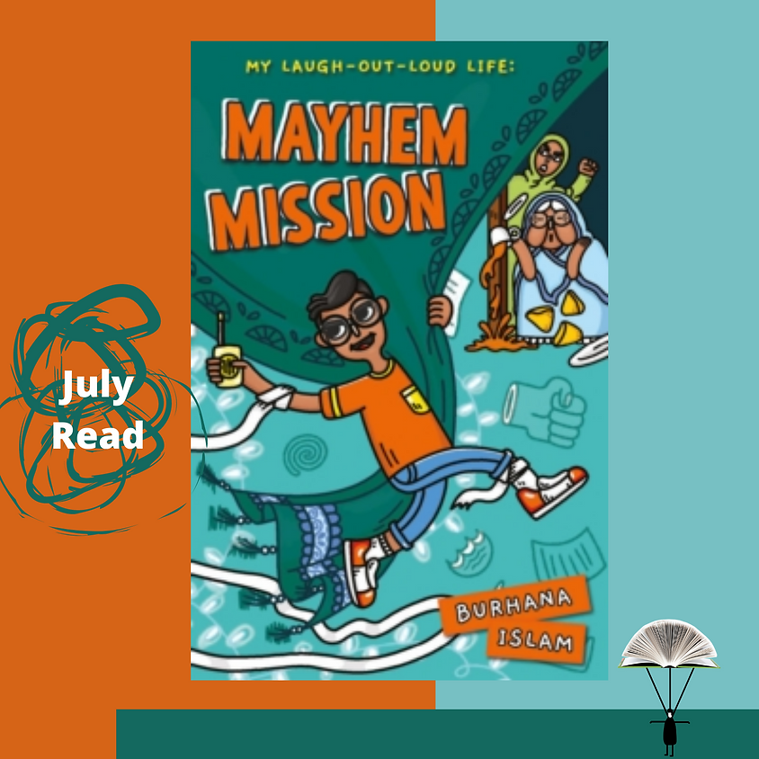 Story Bites Book Club explore Mayhem Mission