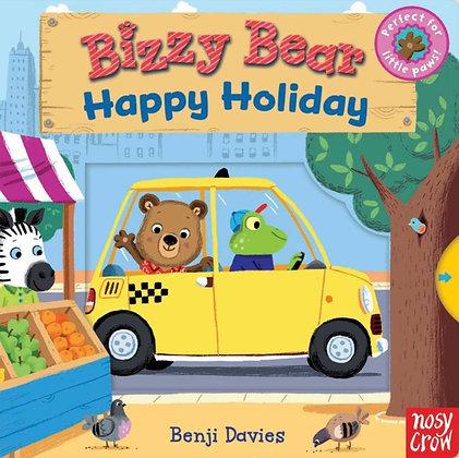 Bizzy Bear: Happy Holiday by Benji Davies