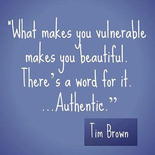 Robin Livingston Richter - Stigma2Strength Favorite Tim Brown Quote