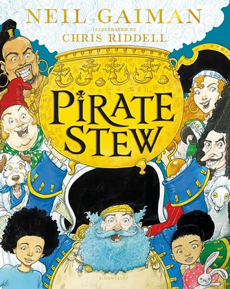 Pirate Stew by Neil Gaiman, Illustrated by Chris Riddell