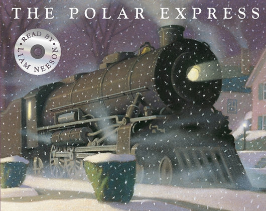 The Polar Express : Picture Book and CD by Chris Van Allsburg