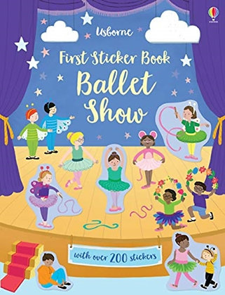 First Sticker Book Ballet Show by Jessica Greenwell