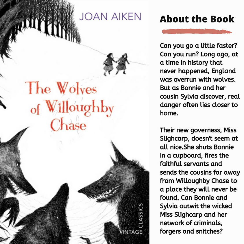 Book Zoom YA: The Wolves of Willoughby Chase by Joan Aiken