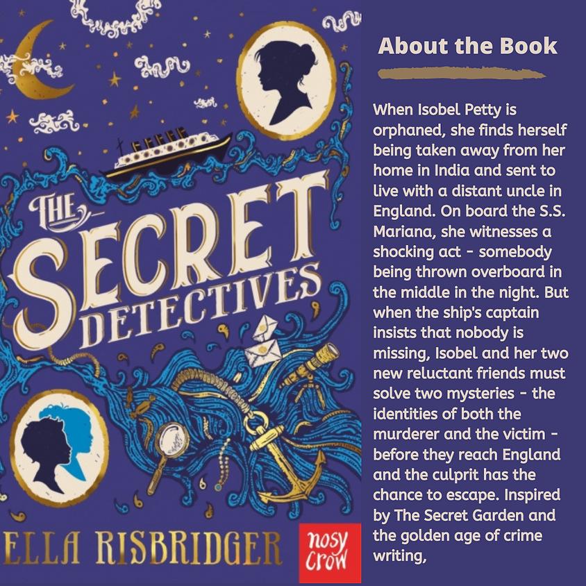 Book Zoom exploring The Secret Detectives by Ella Risbridger