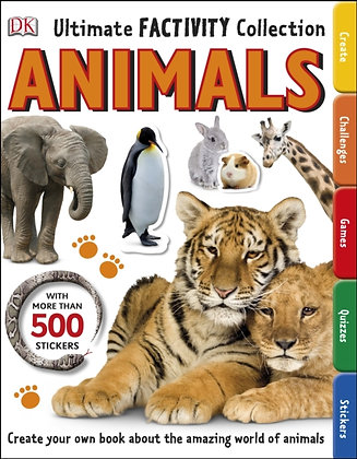 Animals Ultimate Factivity Collection by DK