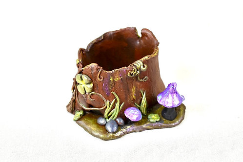 Fairy Succulent Planter Mini pottery fantasy tree house