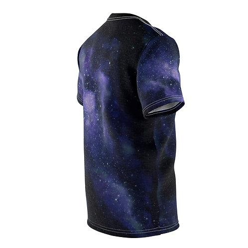 Blue Galaxy Unisex AOP Cut & Sew Tee