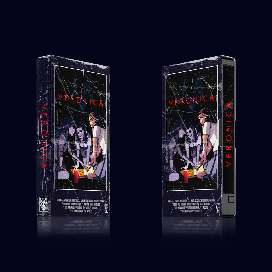 VERONICA VHS COVER